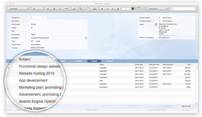 FileMaker Invoice Azor - Timesheet invoice template free
